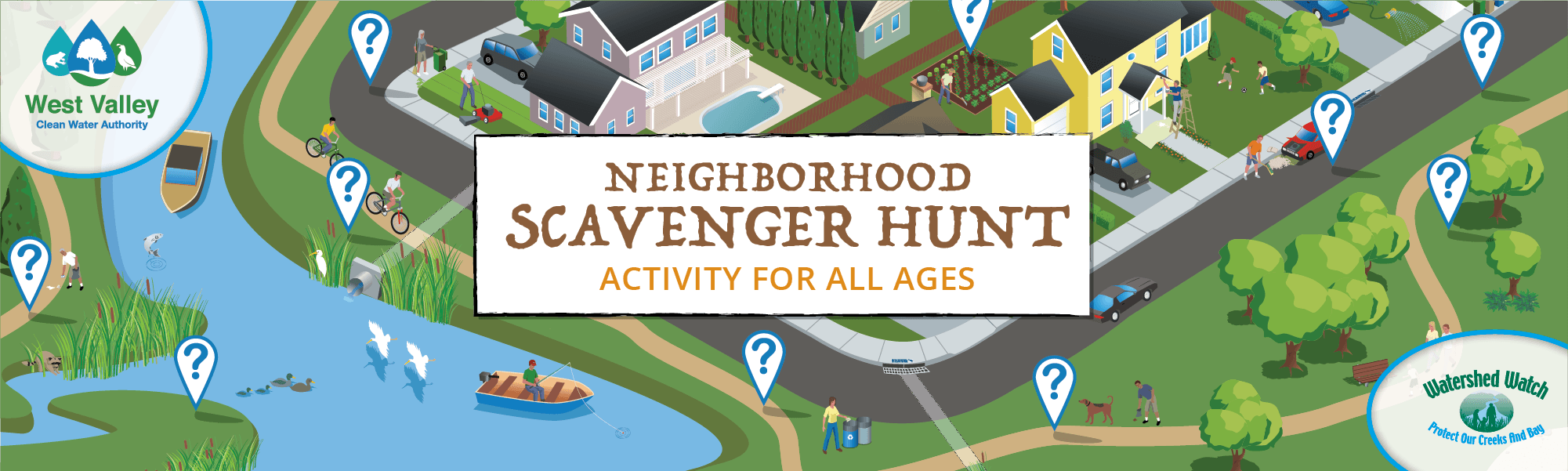 Scavenger Hunt Website Banner